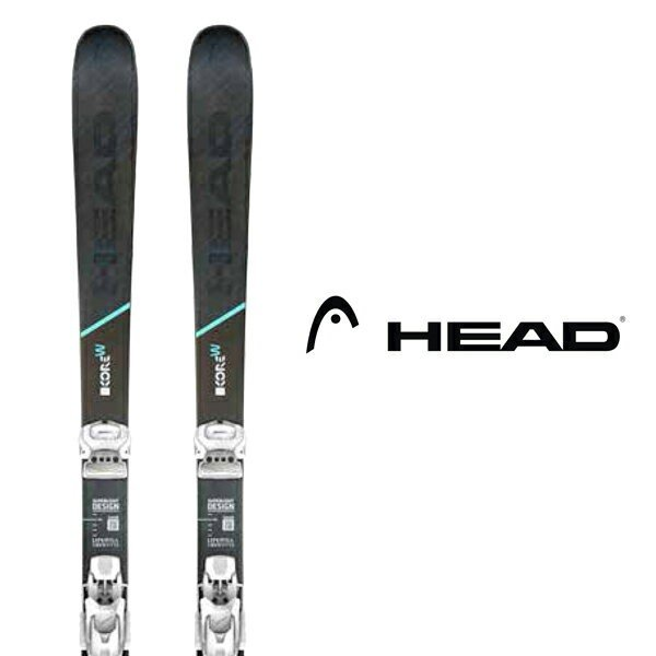 ヘッド スキー板 HEAD【2019-20モデル試乗板】KORE 93 W + ATTACK 11 AT DEMO