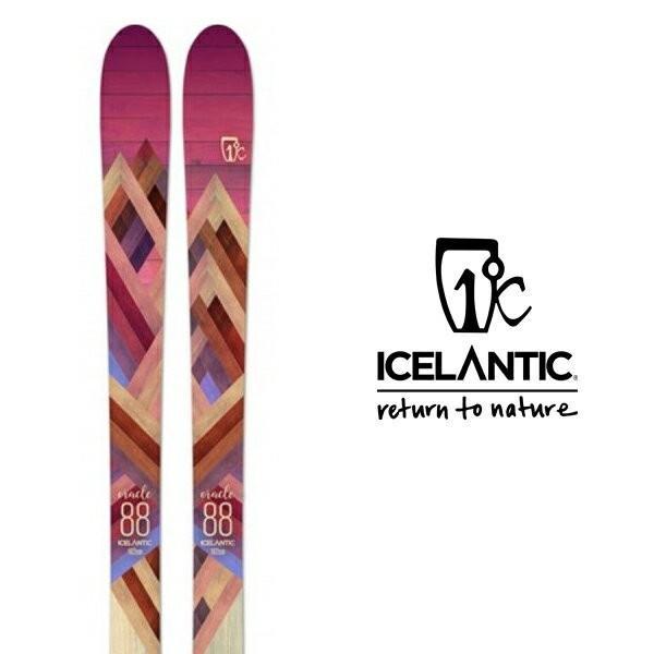 アイスランティック スキー板 ICELANTIC 【2018-19モデル】ORACLE 88(板のみ)