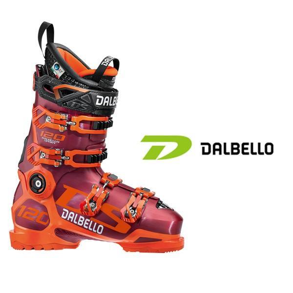 ダルベロ スキーブーツ DALBELLO【2018-19モデル試乗ブーツ】DS 120 レッド×オレンジ(箱無し)