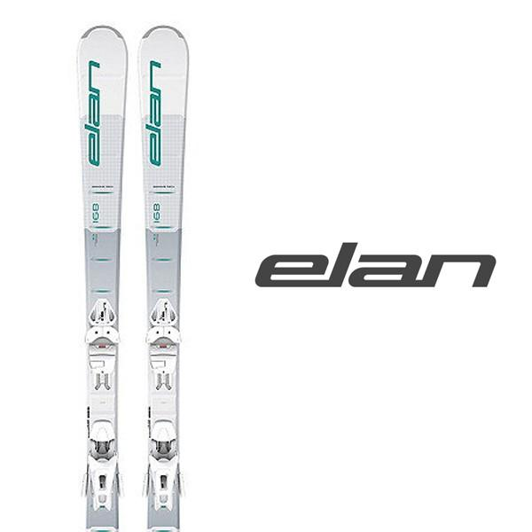 エラン スキー板 elan【2018-19モデル】ELEMENT WHT/BL LS + ELW 9.0