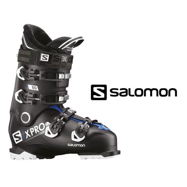 サロモン スキーブーツ SALOMON【2018-19モデル】X PRO 80(黒/Race 青/白い)