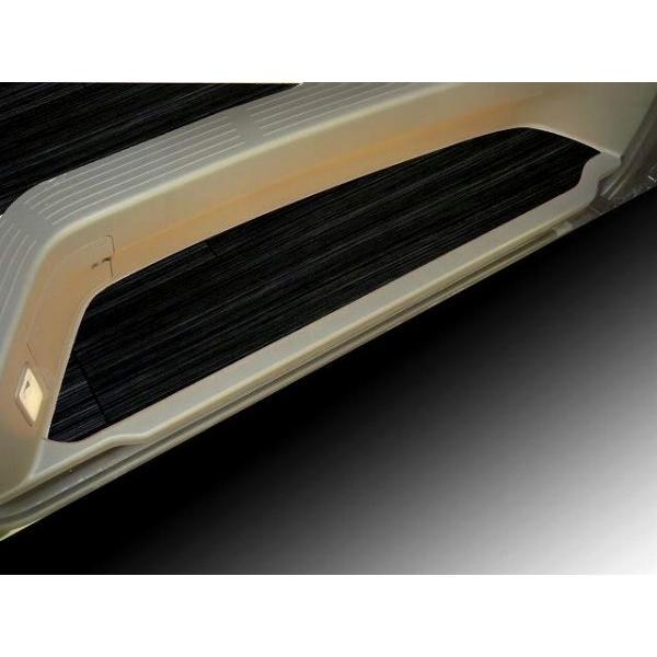 200系ハイエース /レジアス エース コミューター用フルフロアーマット/フローリング ブラックアッシュ|skil-store|03