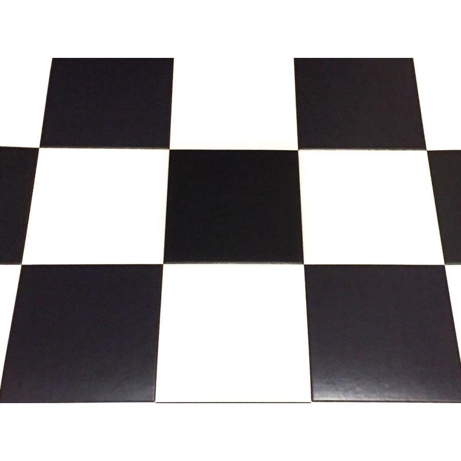 200系ハイエース/レジアスエース スーパーGL用フルフロアーマット/フローリング 白黒チェッカー skil-store 02