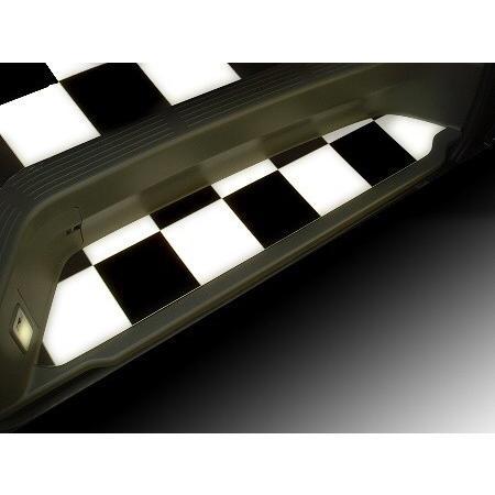 200系ハイエース/レジアスエース スーパーGL用フルフロアーマット/フローリング 白黒チェッカー skil-store 03