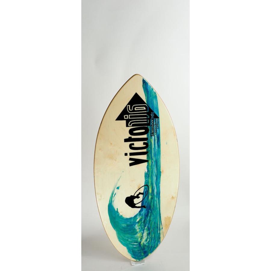 スキムボード ビクトリアスキムボード 初心者向け木製ボード VICTORIA WOODY(サイズ M)
