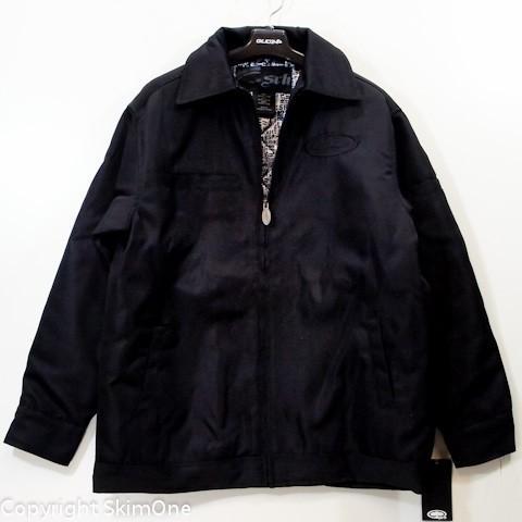 ファッション  エスアールエイチ SRH ガレージジャケット BRUSH BLOCK(特価)(サイズ S)|skim1