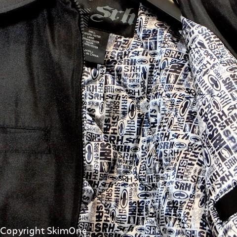 ファッション  エスアールエイチ SRH ガレージジャケット BRUSH BLOCK(特価)(サイズ S)|skim1|04