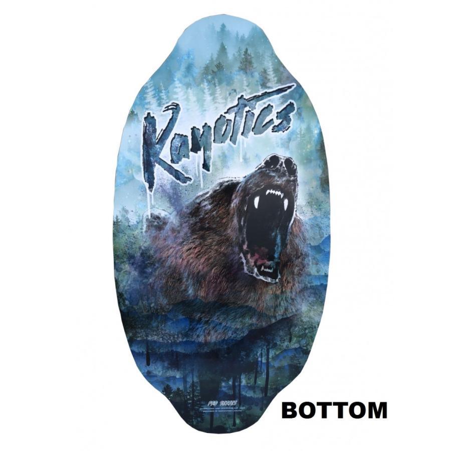 フラットスキム ランド Kayotics カヨティックス Pro Series2018「URSUS」 Size:104cm×52cm skimpeace-store 02