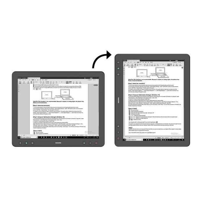 Paperlike HD-FT 13.3インチEInkセカンドディスプレイ|skt|05