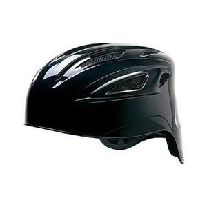 MIZUNO ミズノ ソフトボールキャッチャー用 ブラック ヘルメット 捕手用 1DJHC30109
