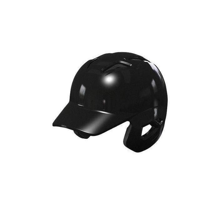 asics アシックス 野球 ゴールドステージ 硬式用バッティングヘルメット 左右打者兼用 ブラック