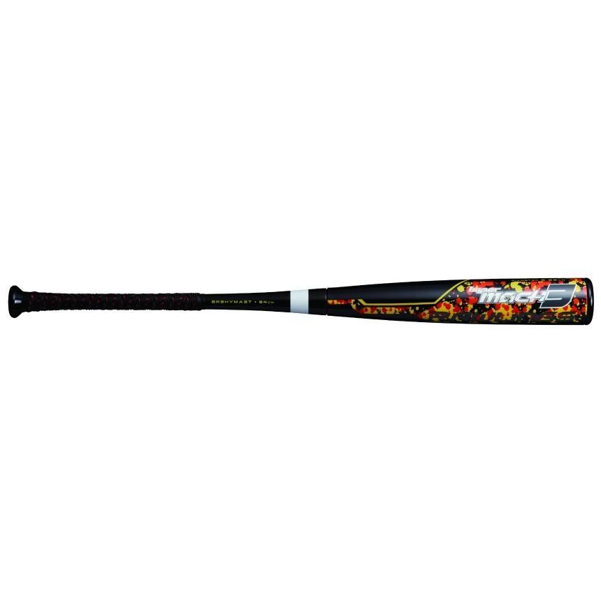 独特の素材 ブラック Rawlings ローリングス 軟式バット 一般 軟式用 M号球対応 HYPERMACH 3(ハイパーマッハ 3) トップバランス 野球バット BR9HYMA3 野球, アクセサリーと雑貨 MILESマイルズ 707063fd