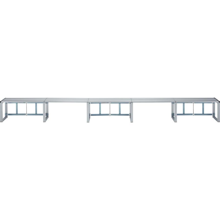 ゼット体育器具 ひな段 1段40型5連セット ZH15S42