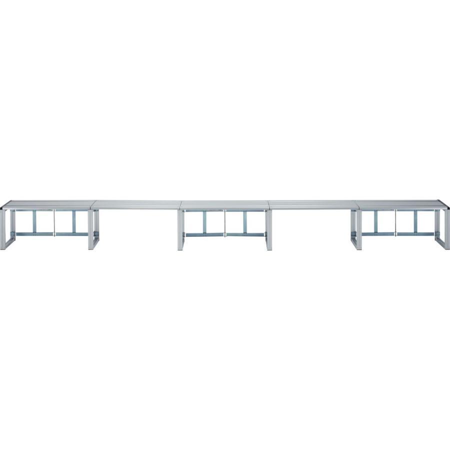 ゼット体育器具 ひな段 1段40型5連セット ZH15W42