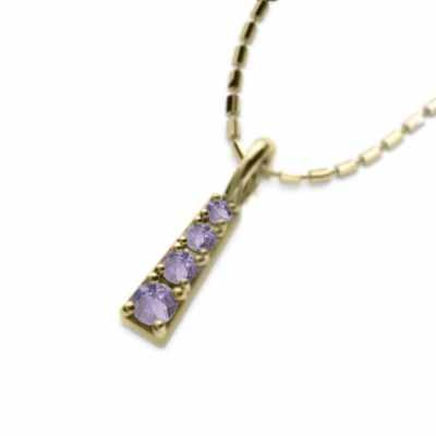 激安価格の ネックレス 2月の誕生石 アメシスト(紫水晶) ネックレス 18金イエローゴールド 2月の誕生石, モトミヤマチ:866d369b --- airmodconsu.dominiotemporario.com