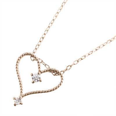 いいスタイル ジュエリー ペンダント オープン ハート ダイヤモンド 4月誕生石 k18ピンクゴールド, RAGTAG(ブランド古着のラグタグ) b6fb8519