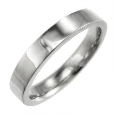 激安の 平打ちの 指輪 指輪 レディース 約3mm幅 18金ホワイトゴールド 平打ちの スタンダード 約3mm幅, オオタケシ:f481f040 --- bit4mation.de