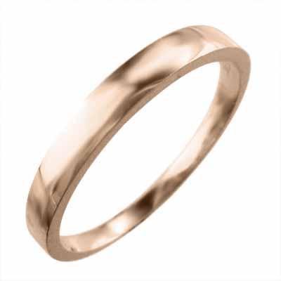 【最新入荷】 シンプル シンプル 平打ち リング リング k10ピンクゴールド 平打ち 最大約3mm幅, ヤサカムラ:125ad04d --- airmodconsu.dominiotemporario.com