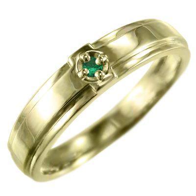 感謝の声続々! 指輪 指輪 ジュエリー エメラルド 石 クロス ジュエリー 1粒 石 k18イエローゴールド 5月誕生石, ぽかぽか家族のLiving-E:d5d632c0 --- airmodconsu.dominiotemporario.com