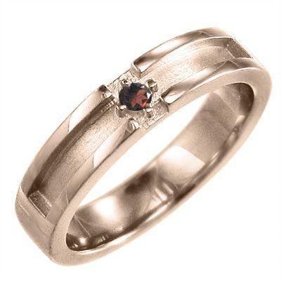人気ブランドの 小指 小指 指輪 一粒石 クロス十字架 一粒石 ガーネット クロス十字架 1月の誕生石 k18ピンクゴールド, サンドリヨン:27baa7a0 --- airmodconsu.dominiotemporario.com