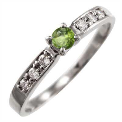 世界的に有名な 指輪 ダイヤモンド ペリドット 8月の誕生石 ダイヤモンド ペリドット 18金ホワイトゴールド 8月の誕生石, VONDO:9a0e3e01 --- airmodconsu.dominiotemporario.com