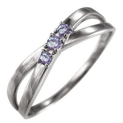 【美品】 指輪 指輪 ジュエリー 3石 クロス ジュエリー タンザナイト 12月の誕生石 12月の誕生石 白金(プラチナ)900 X型, エヌマグン:9f6548ad --- airmodconsu.dominiotemporario.com