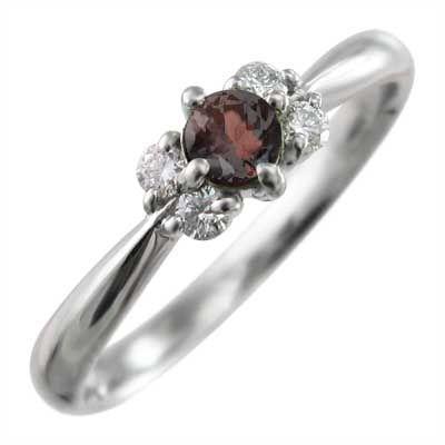最も信頼できる 5石 指輪 指輪 ガーネット ガーネット 5石 k18ホワイトゴールド, 河北郡:7a2852aa --- airmodconsu.dominiotemporario.com