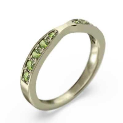 当店だけの限定モデル 10金イエローゴールド 指輪 8月誕生石 ペリドット, ニットアンドファブリック f3dcaf6e