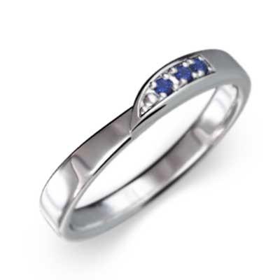 高品質 指輪 10kホワイトゴールド サファイア(青) 9月誕生石, 帯と和装小物の店 和門なかむら 6c0b14c0