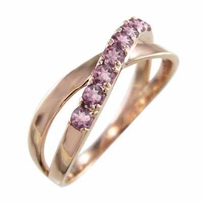人気商品の ピンクトルマリン 指輪 クロス クロス 指輪 ヘッド 10月の誕生石 k10ピンクゴールド X型 X型, 松戸市:ce5a5dfb --- airmodconsu.dominiotemporario.com