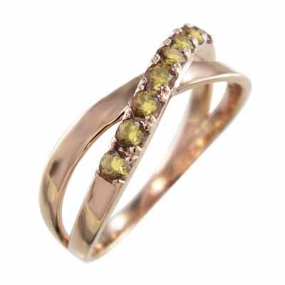 【在庫あり/即出荷可】 18kピンクゴールド ヘッド 指輪 指輪 クロス ヘッド X型 11月の誕生石 (黄水晶)シトリン X型, 山形名物玉こんにゃくヤマコン食品:dd02bbed --- airmodconsu.dominiotemporario.com