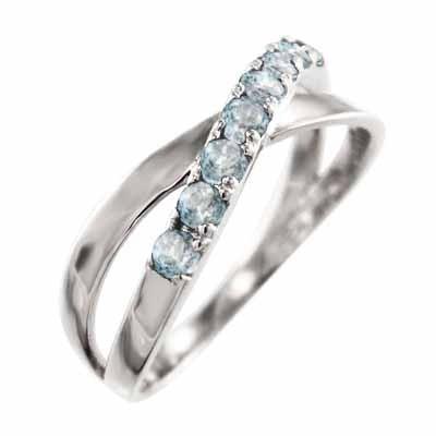 大人気の 指輪 3月誕生石 18金ホワイトゴールド クロス ヘッド アクアマリン アクアマリン クロス 3月誕生石 X型, 赤ちゃんデパート:c8c7e7d4 --- bit4mation.de