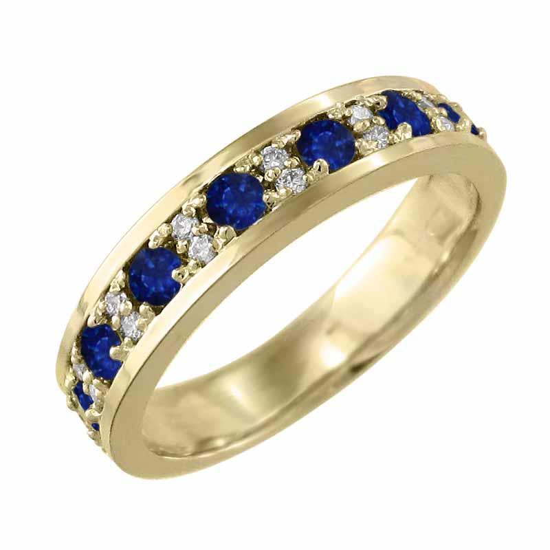 人気商品 リング サファイヤ 天然ダイヤモンド 9月の誕生石 イエローゴールドk18, Jewellery SHIBATA 61df82d8