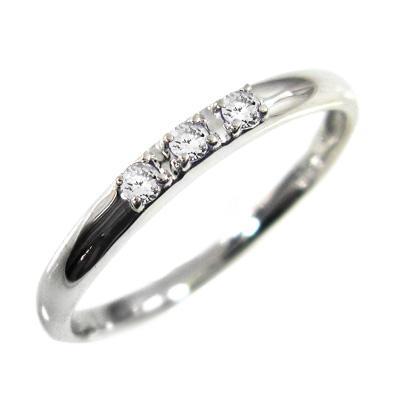 グランドセール 指輪 婚約 ブライダル にも 天然ダイヤ 3ストーン k10ホワイトゴールド 4月誕生石, 有田焼や心器 c8041276