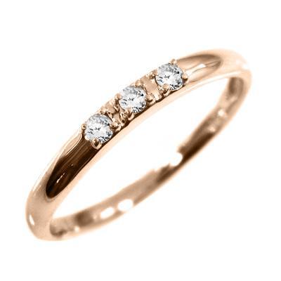 【好評にて期間延長】 指輪 婚約 ダイヤモンド ブライダル 婚約 にも 3ストーン ダイヤモンド ブライダル 4月誕生石 k18ピンクゴールド, イスミマチ:0a51c711 --- airmodconsu.dominiotemporario.com