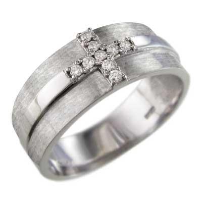 大人気定番商品 指輪 4月誕生石 18金ホワイトゴールド クロス 天然ダイヤ デザイン 指輪 天然ダイヤ 4月誕生石, 龍郷町:011c5637 --- airmodconsu.dominiotemporario.com