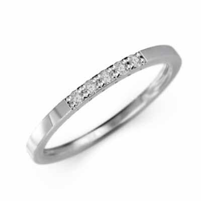 超人気 プラチナ900 平打 リング ファイブ ストーン 天然ダイヤモンド 幅約3mmリング 微細, 日本インテリア 雑貨家具収納 453772f1