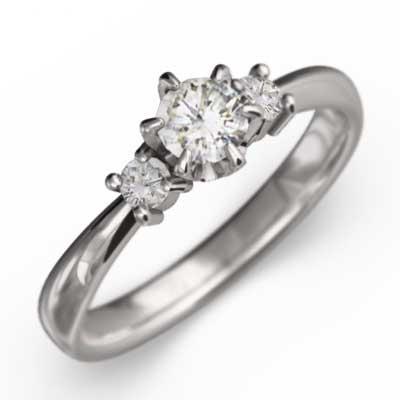 新着商品 エンゲージ リング ダイアモンド k18ホワイトゴールド 4月誕生石, リトルプリンセス e3bbe9d7