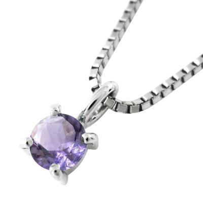 公式サイト ペンダント 1粒石 アメシスト(紫水晶) 約3.3mm 2月誕生石 Pt900, ケンタウロス 6accee3c