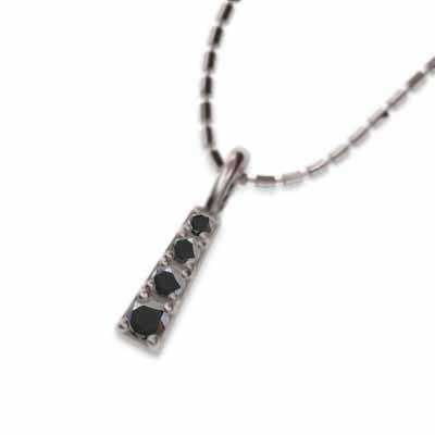 【特別訳あり特価】 ジュエリー ネックレス ブラックダイア ブラックダイア 4月誕生石 4月誕生石 18金ホワイトゴールド, フジバンビ:80a1302e --- airmodconsu.dominiotemporario.com