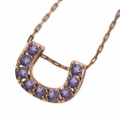 定番 馬蹄馬蹄 アメシスト(紫水晶) 10金ピンクゴールド, e-shop PLUS ONE:5d07f6ac --- airmodconsu.dominiotemporario.com