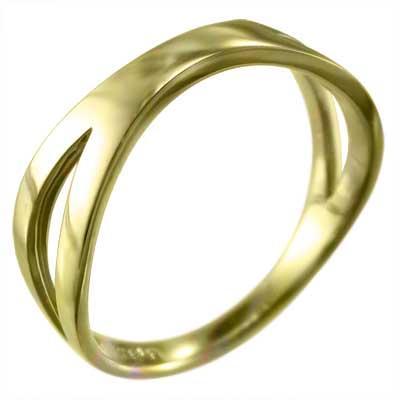 お手頃価格 指輪 指輪 十字架 スタンダード スタンダード 18kイエローゴールド X型 X型, Deff:b3e41f27 --- chizeng.com