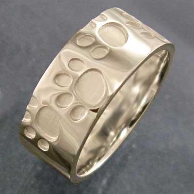 (税込) 平打ち リング 厚さ約1.4mm 犬 シンプル 平打ち 10kイエローゴールド 約7mm幅 約7mm幅 厚さ約1.4mm 肉球足跡リング, アウトドアーズコンパス:53cd7179 --- airmodconsu.dominiotemporario.com