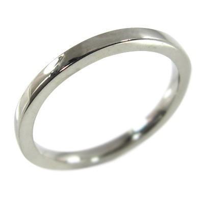納得できる割引 18kホワイトゴールド 平打ち リング ピンキー 小指 リング 地金 約1.4mm幅, ノオガタシ 18a3cfe8