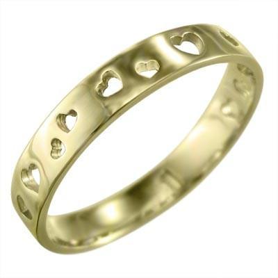 【良好品】 平らな指輪 地金 ハート 地金 平らな指輪 型抜き ハート k18イエローゴールド, Back Arrow バックアロー:c40d2bc2 --- bit4mation.de