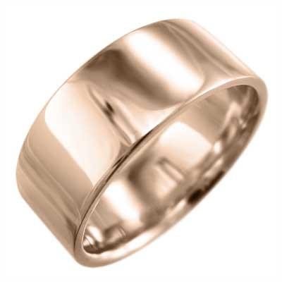 【大放出セール】 平打 リング リング メンズ シンプル 約7mm幅 k18ピンクゴールド 約7mm幅 厚さ約1.4mm 大きめサイズ 厚さ約1.4mm, あんどんや:c0337827 --- airmodconsu.dominiotemporario.com