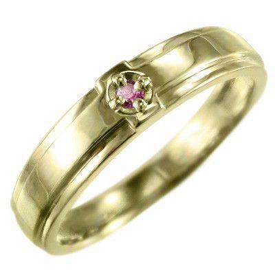 超話題新作 指輪 ピンクトルマリン クロス ヘッド ヘッド 1粒 1粒 指輪 石 k10イエローゴールド 10月の誕生石, のぼり看板専門店ラビットサイン:37b42ba3 --- bit4mation.de
