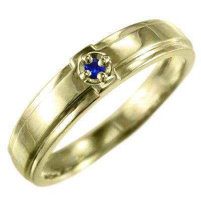 超高品質で人気の 指輪 クロス 9月の誕生石 ヘッド ヘッド 1粒 石 石 サファイア K10 9月の誕生石, 生活雑貨all:fed36308 --- airmodconsu.dominiotemporario.com