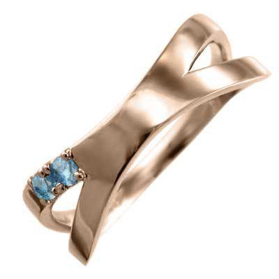 全てのアイテム 平打ち クロス十字架 指輪 10kピンクゴールド クロス十字架 ブルートパーズ(青) 平打ち 11月誕生石 指輪 X型, ジューシーロック:b35b1dc5 --- airmodconsu.dominiotemporario.com