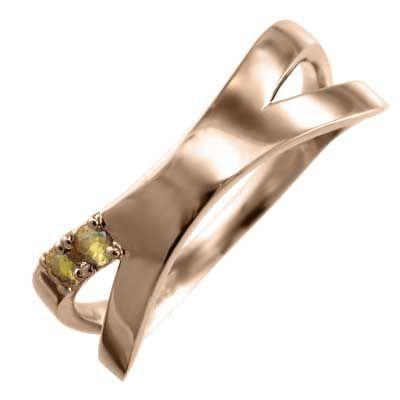 最安値に挑戦! クロス クロス ジュエリー 平らな指輪 シトリン(黄水晶) k10ピンクゴールド 平らな指輪 X型 X型, 河南町:8db9fdff --- airmodconsu.dominiotemporario.com